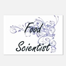Food Scientist Artistic J Postcards (Package of 8)