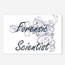 Forensic Scientist Artist Postcards (Package of 8)