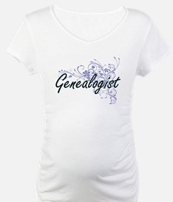 Genealogist Artistic Job Design Shirt