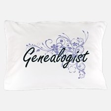 Genealogist Artistic Job Design with F Pillow Case
