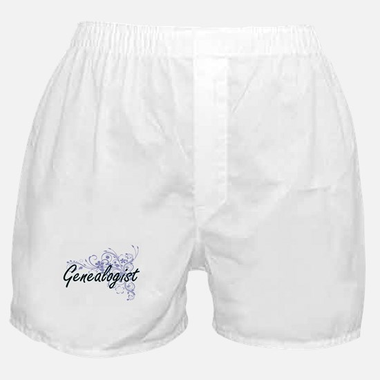 Genealogist Artistic Job Design with Boxer Shorts