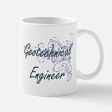 Geotechnical Engineer Artistic Job Design wit Mugs