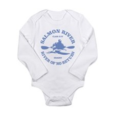 Cute Whitewater Long Sleeve Infant Bodysuit