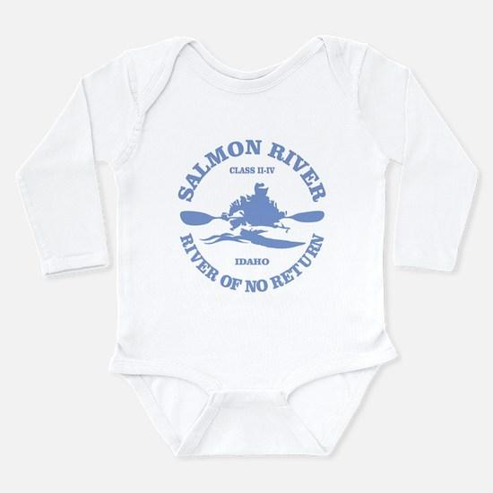 Cute Idaho Long Sleeve Infant Bodysuit