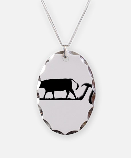 Cow Pie Necklace