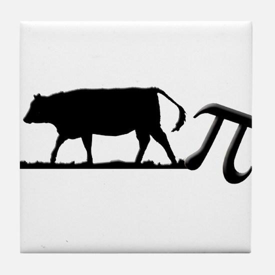 Cow Pie Tile Coaster