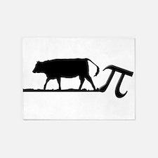 Cow Pie 5'x7'Area Rug