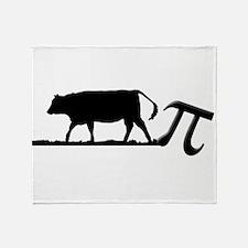 Cow Pie Throw Blanket