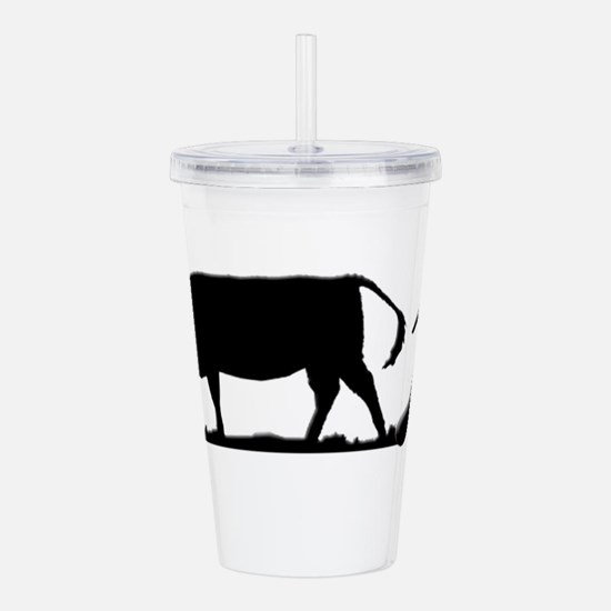 Cow Pie Acrylic Double-wall Tumbler