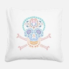 Funny Mermaid Square Canvas Pillow