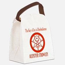 THE KEY OF JOY IS DISOBEDIENCE Canvas Lunch Bag
