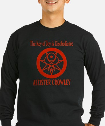 THE KEY OF JOY IS DISOBEDIENCE Long Sleeve T-Shirt