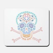 Marine Candy Skull Mousepad