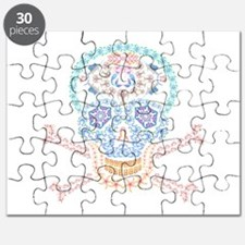 Marine Candy Skull Puzzle