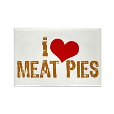 Natchitoches Meat Pies Rectangle Magnet (10 pack)