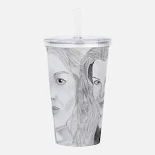 Ivanova And Claudia Acrylic Double-Wall Tumbler