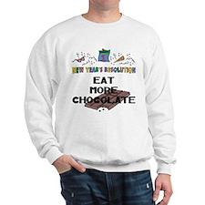 Funny New Year's Resolution Sweatshirt