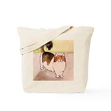 Cute Happy cat Tote Bag