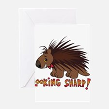 Looking Sharp Porcupine Greeting Cards