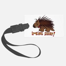 Looking Sharp Porcupine Luggage Tag