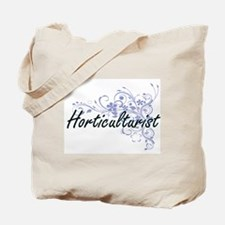 Horticulturist Artistic Job Design with F Tote Bag