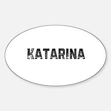 Katarina Oval Decal