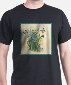 Vintage Water Can and Butterflies T-Shirt