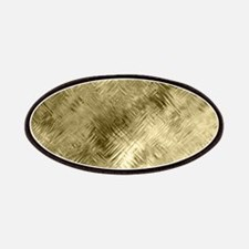 Bronze Crystal Pattern Patch