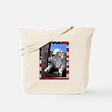 Cute Patriotic Tote Bag