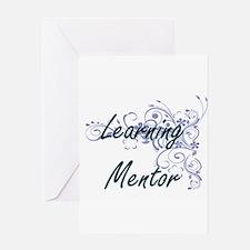 Learning Mentor Artistic Job Design Greeting Cards