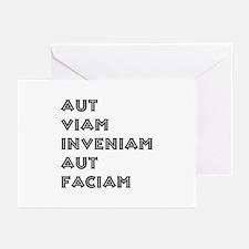 """""""Aut Viam Inveniam"""" Greeting Cards (Pk of 20)"""