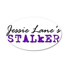 Jessie Lane Stalker Purple 2 Wall Decal
