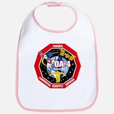 NASA OA-4 Cotton Baby Bib