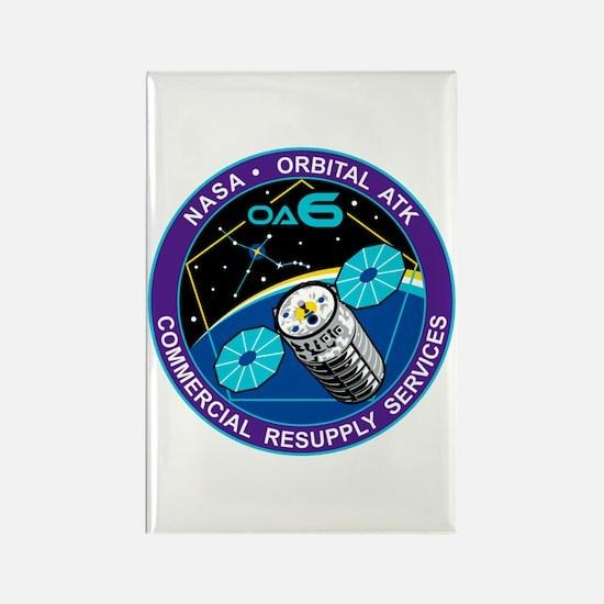 NASA OA-6 Rectangle Magnet