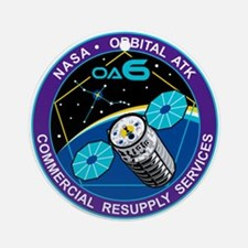 CRS Orb-6 Round Ornament