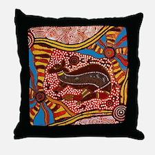Unique Aboriginal Throw Pillow