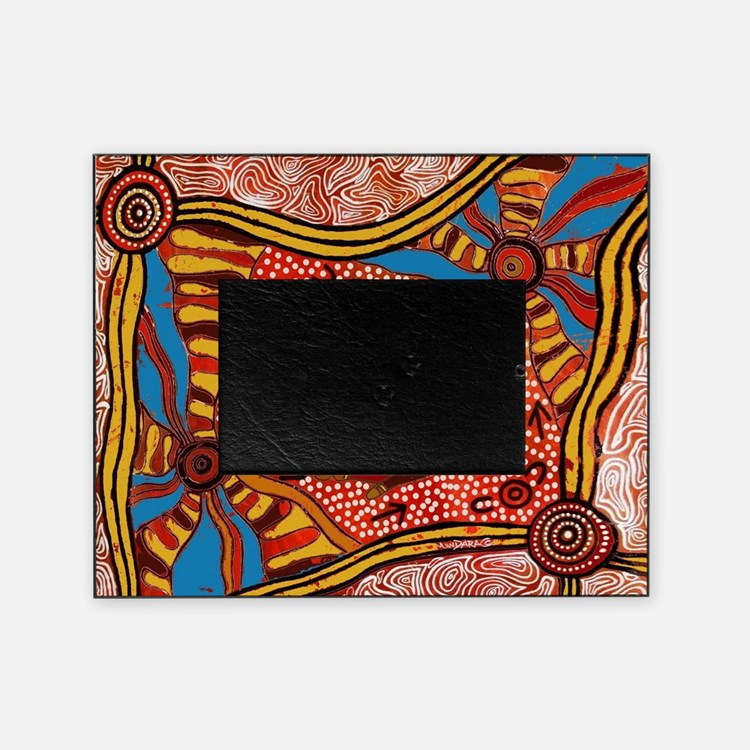 Cute Australia aboriginal Picture Frame