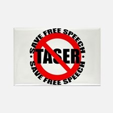 Say No to Tasers Rectangle Magnet