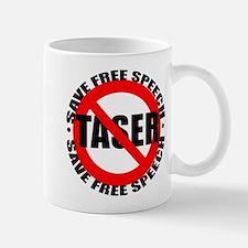 Say No to Tasers Mug