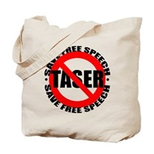 Say No to Tasers Tote Bag