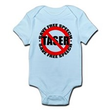 Say No to Tasers Infant Bodysuit
