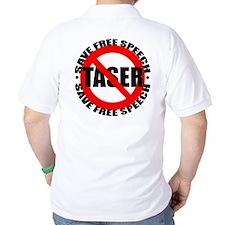 Say No to Tasers T-Shirt