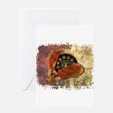 Steampunk Ladybug Greeting Cards