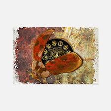 Steampunk Ladybug Magnets