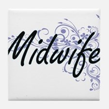 Midwife Artistic Job Design with Flow Tile Coaster