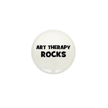 Art Therapy Rocks Mini Button (10 pack)