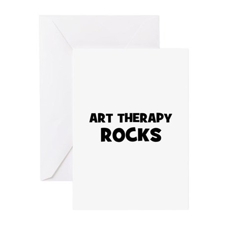 Art Therapy Rocks Greeting Cards (Pk of 10)