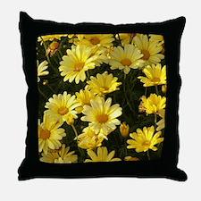 Yellow Daisies LC Throw Pillow