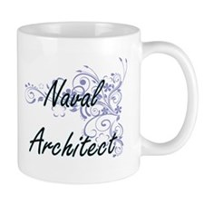 Naval Architect Artistic Job Design with Flow Mugs