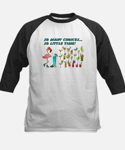 Flamingo Happy Hour Baseball Jersey